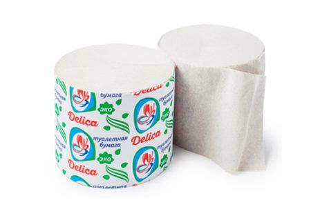 Туалетная бумага Delica Стандарт купить от производителя