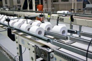 Контроль этапов производства туалетной бумаги