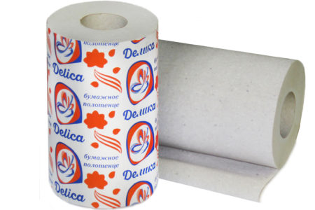 полотенца бумажные на втулке производитель Delica