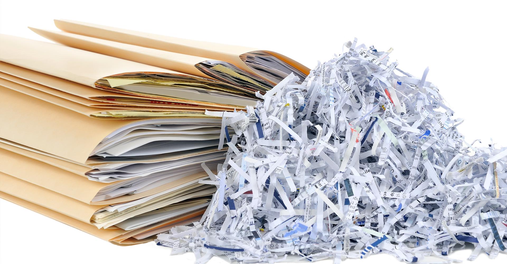услуги уничтожение документов
